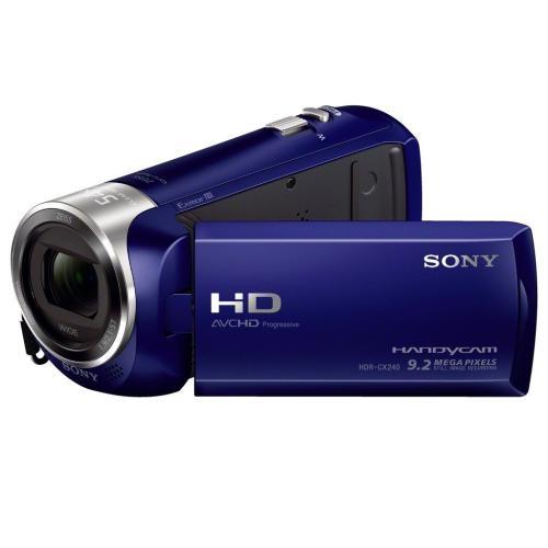 HDRCX240/L Full Hd 60P Camcorder; Blue