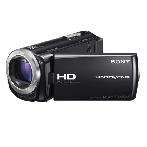 HDRCX260V/B High Definition Handycam Camcorder; Black
