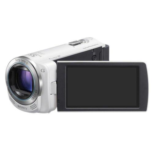 HDRCX260V/W High Definition Handycam Camcorder; White