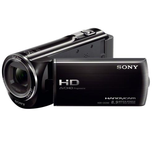 HDRCX290/B High Definition Handycam Camcorder; Black
