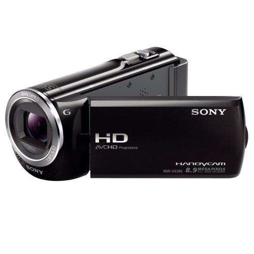 HDRCX380/B High Definition Handycam Camcorder; Black