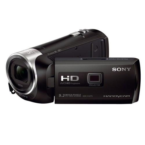 HDRPJ275/B Full Hd 60P Camcorder W/ Built-in Projector; Black