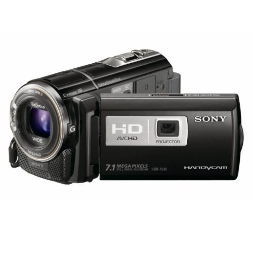 HDRPJ30V High Definition Projector Handycam Camcorder