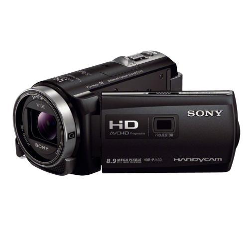 HDRPJ430V High Definition Projector Handycam Camcorder