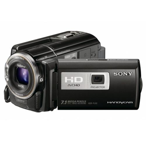 HDRPJ50V High Definition Projector Handycam Camcorder