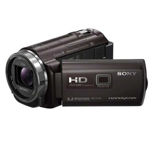 HDRPJ540/B Full Hd 60P/24p Camcorder W/ Balanced Optical Steadyshot; Black