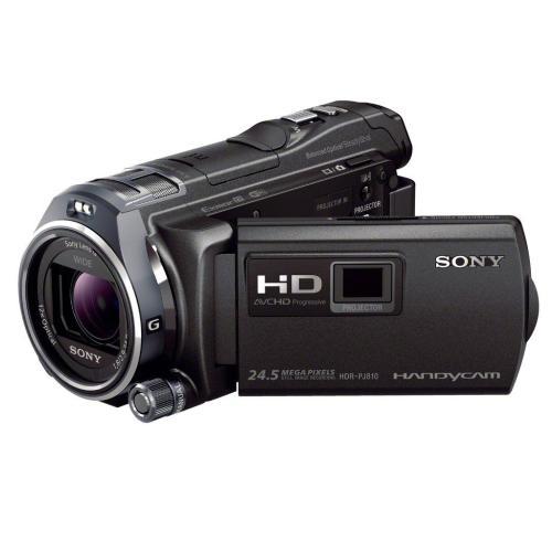 HDRPJ810/B Full Hd 60P/24p Camcorder W/ Advanced Manual Controls; Black