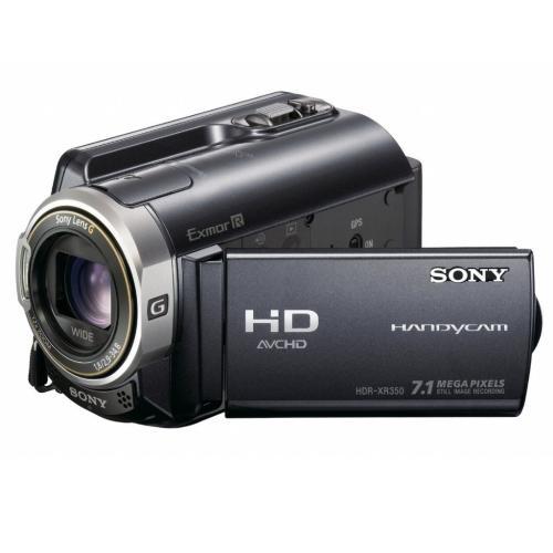 HDRXR350V High Definition Hard Disk Drive Handycam Camcorder; Black