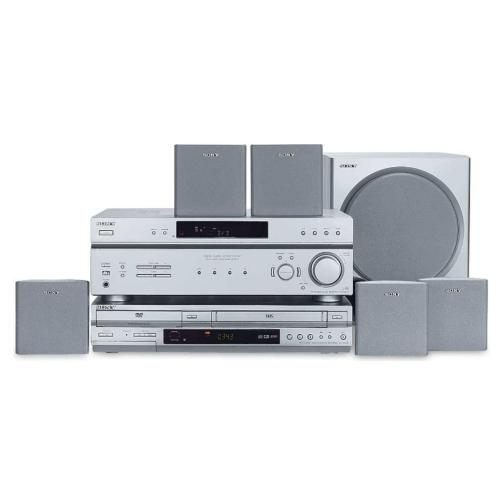 HTV2000DP Dvd/vcr Combo Home Theater In A Box
