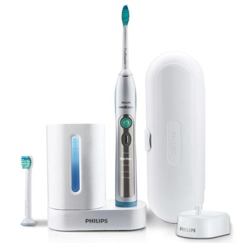 HX6972/10 Sonicare Flexcare+ Rechargeable Sonic Toothbrush 5 Modes 2 Brush Heads 1 Hard Travel Case