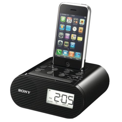 ICFC05IPBLK Clock Radio For Ipod (Black)