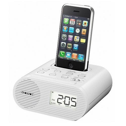 ICFC05IPWHT Clock Radio For Ipod (White)