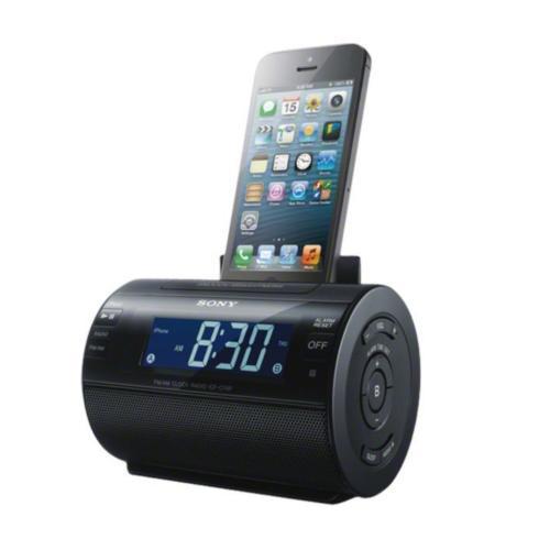 ICFC11IP/BLK Non Cd Clock Radio W/ipod Dock; Black