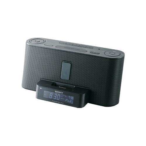 ICFC1IPBLACK Clock Radio With Ipod Dock