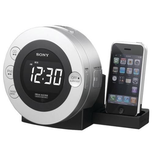ICFC7IP Clock Radio With Ipod Dock