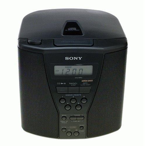 ICFCD833 Cd Clock Radio