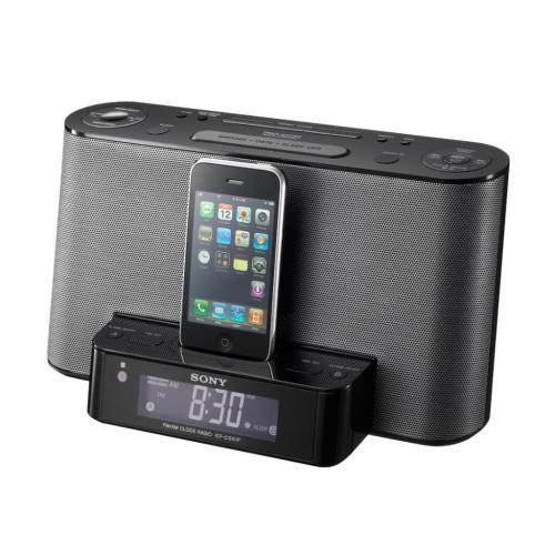 ICFCS10IPBLK Clock Radio With Ipod Dock