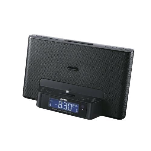 ICFCS15IPBLKN Speaker Dock For Ipod /Iphone; Black