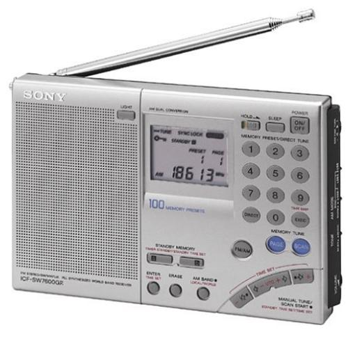 ICFSW7600GR Fm Stereo Multi-band World Band Receiver Radio