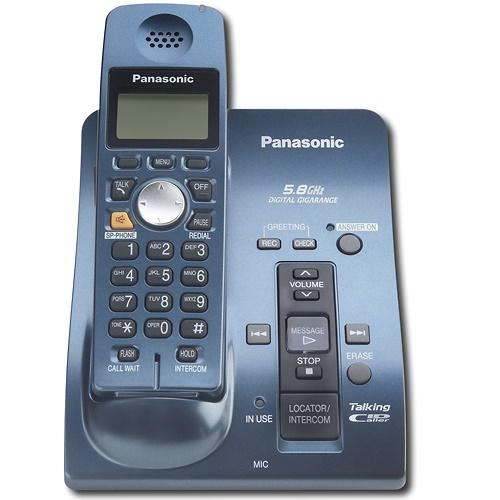 KXTG6051/09 5.8G Phone W/1hs-blu