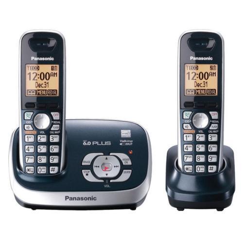 KXTG6572C Expandable Digital Cordless Answering System