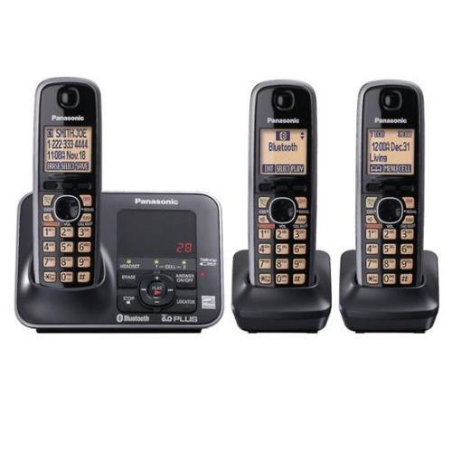 KXTG7623B Dect 6.0 Telephone