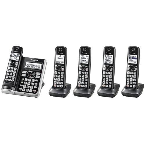 KXTG785SK Link2cell Cordless Telephone With Digital Answering Machine
