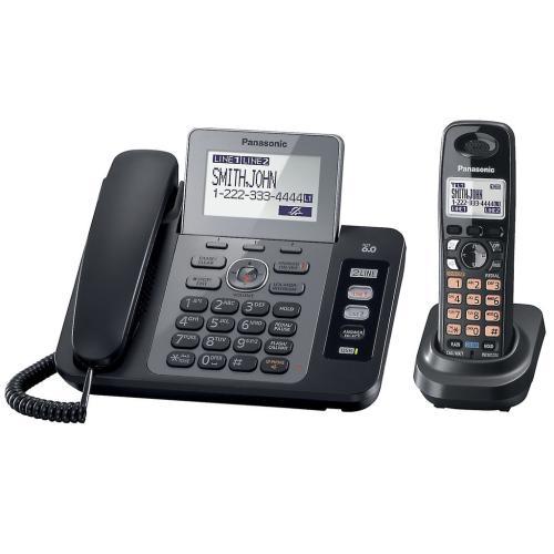 KXTG9471B Dect 2Line Telephone
