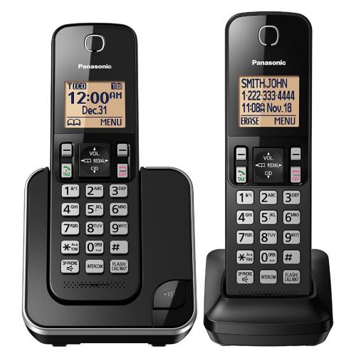 KXTGC352B Dect 6.0 Expandable Cordless Phone System