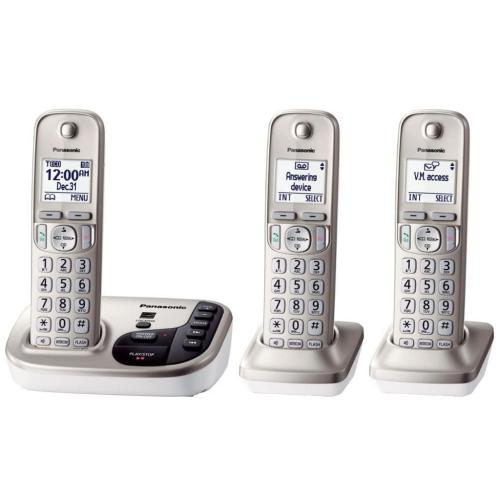 KXTGD223N Dect 6.0 Telephone