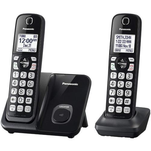 KXTGD512B Dect 6.0 Expandable Cordless Phone System