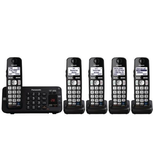 KXTGE245B Dect 6.0 Telephone