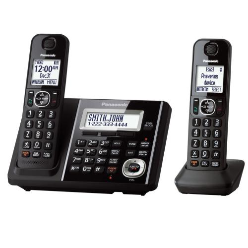 KXTGF342B Digital Cordless Phone