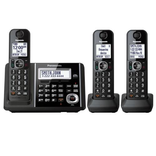 KXTGF343B Digital Cordless Phone