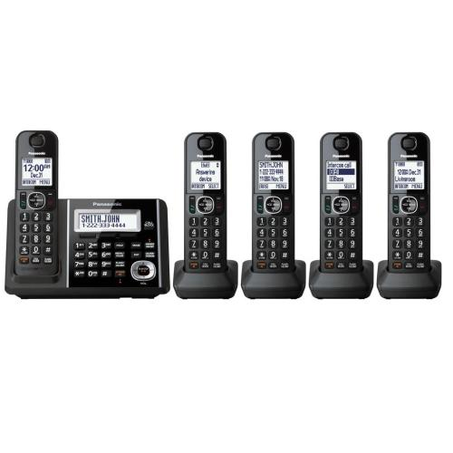 KXTGF345B Digital Cordless Phone