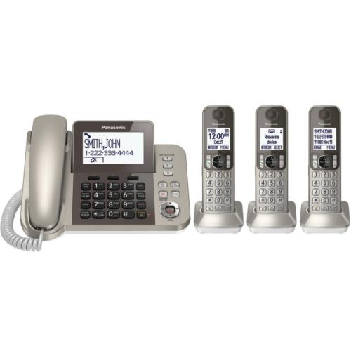 KXTGF353N Digital Corded/cordless Answering System