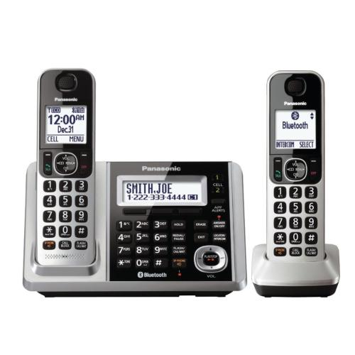 KXTGF372S Digital Cordless Phone