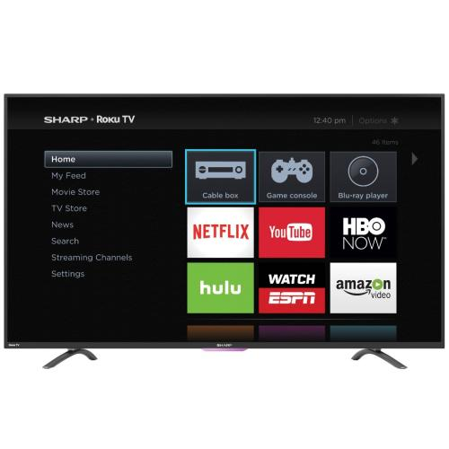 LC43N4000U Sharp 43-Inch Classfull Hd Roku Tv Ltdn43k2208wus