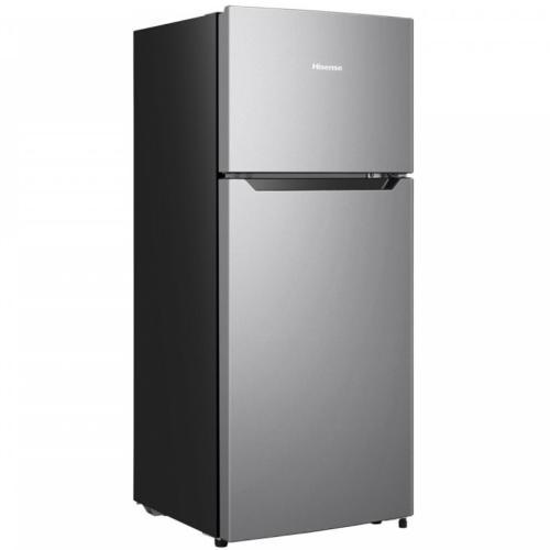 LCT43D6ASE 4.4-Cu Ft Freestanding Mini Fridge Freezer (Silver)