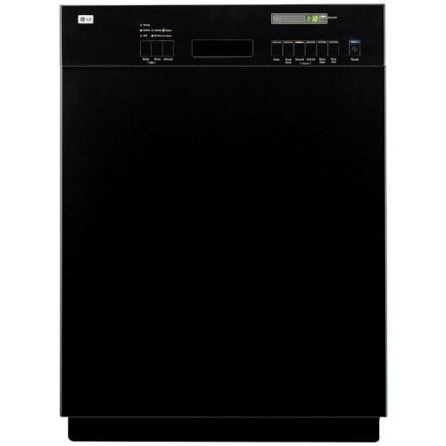 LDS5811BB Semi-integrated Dishwasher With Easy-access Controls And Visible Status Display