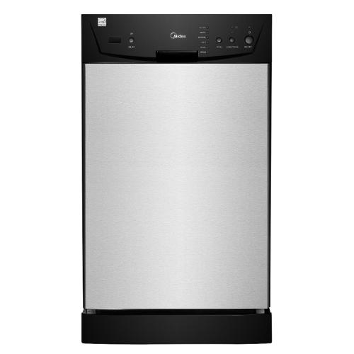 M18DB9339SS3A2 Built-in 18 Inch Dishwasher, Black