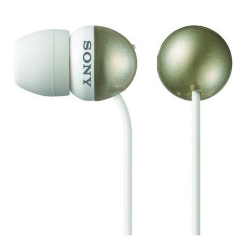 MDREX33LP/GLD Earbud Style Heaphones.