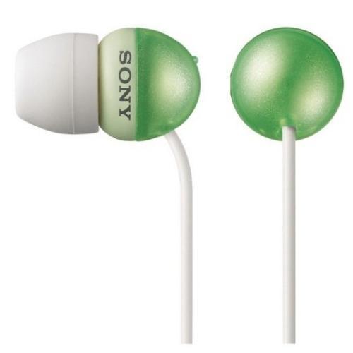 MDREX33LP/GRN Earbud Style Heaphones.