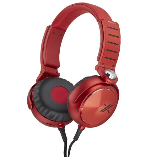 MDRX05/BR X05 Series Headphones; Black/red