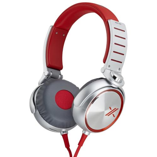 MDRX05/RS X05 Series Headphones; Red/silver