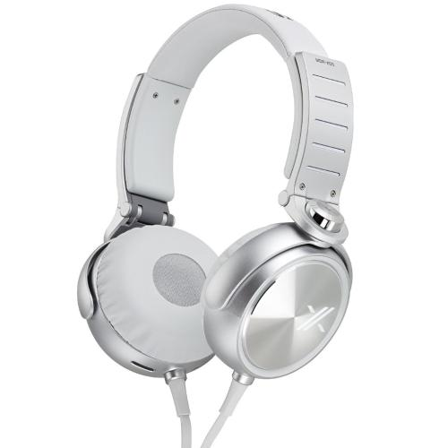 MDRX05/WS X05 Series Headphones; White/silver