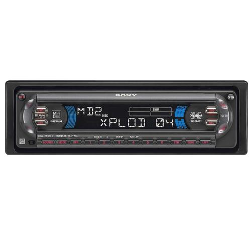 MDXF5800 Fm-am Minidisc Player