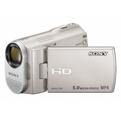 MHSCM1 Webbie Hd Mp4 Camera And 5Mp All-in-one Camera; Silver