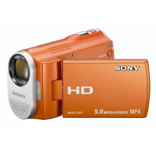 MHSCM1/D Webbie Hd Mp4 Camera And 5Mp All-in-one Camera; Orange