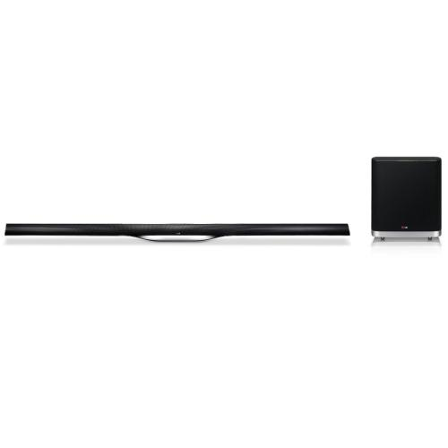 NB5530ANB 2.1 Ch Sound Bar Audio System W/ Wireless Subwoofer